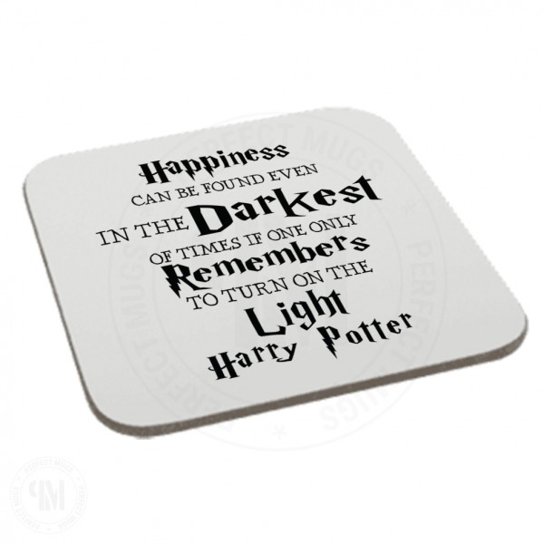 Happiness Can Be Found Even in The Darkest Coaster