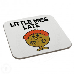 Little Miss Late Coaster