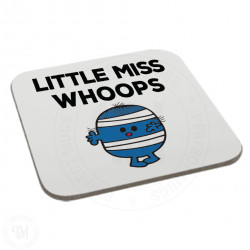 Little Miss Whoops Coaster