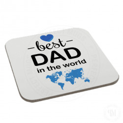 Best Dad in The World Coaster