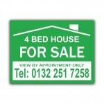 House To Let Correx Sign Board