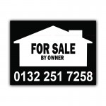 FOR SALE By Owner Correx Sign Board