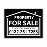 Property For Sale Correx Sign Board