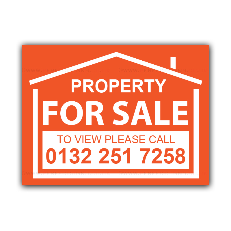 For Sale Sold Sign: Property For Sale Correx Sign Board