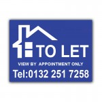 TO LET Correx Sign Board
