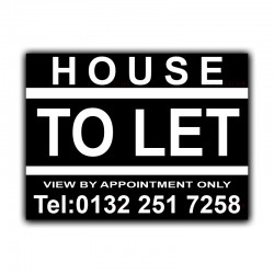 House To Let Correx Sign Board CORCP00029