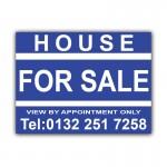 House For Sale Correx Sign Board