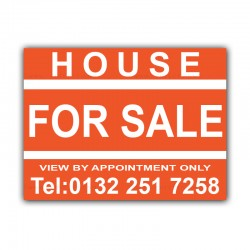 House For Sale Correx Sign Board CORCP00030