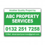 Property Maintenance Services Correx Sign Boards