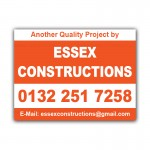 Property Constructions Correx Sign Boards