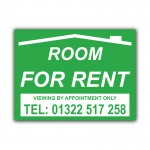 Room For Rent Correx Sign Board
