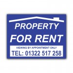 Property For Rent Correx Sign Board