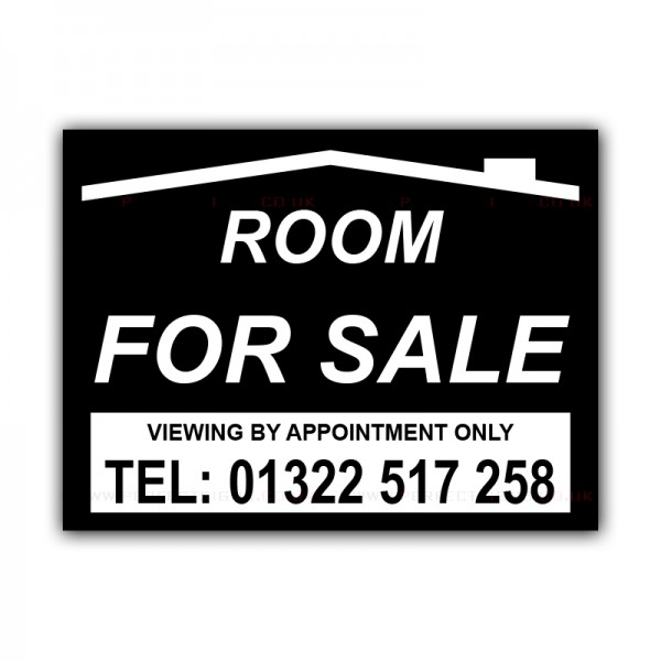 Room For Sale Correx Sign Board