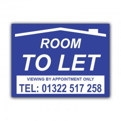 Room To Let  Correx Sign Board