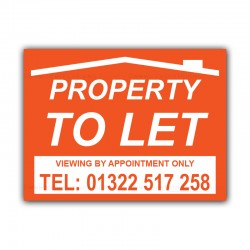 Property To Let  Correx Sign Board CORCP00044