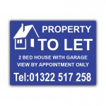 Property To Let Correx Sign Board