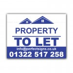 To Let Property Correx Sign Board