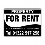 Property For Rent Signs  Estate Agent  Correx Sign Board