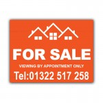 For Sale Property Estate Agent  Correx Sign Board