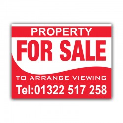Property For Sale Estate Agent  Correx Sign Board
