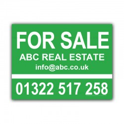 For Sale Property Estate Agent  Correx Sign Boards