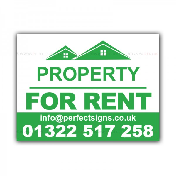Property For Rent  Correx Sign Boards