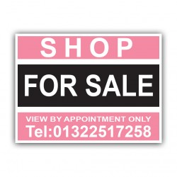 Shop For Sale Correx Sign Printed Boards