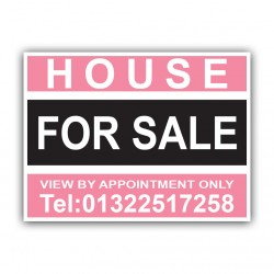 House For Sale Correx Sign Printed Boards