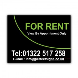 For Rent Printed Correx Sign Boards