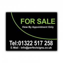 For Sale Printed Correx Sign Boards