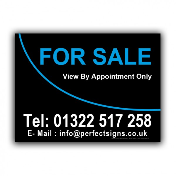 For Sale Correx Sign Printed Boards