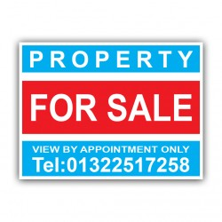 Property For Sale Correx Sign Printed Personalised Boards