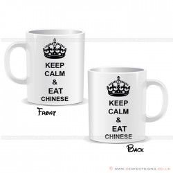 Keep Calm and Eat Chinese Mug
