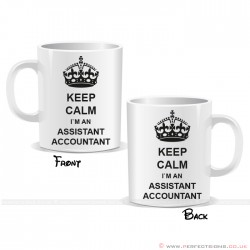 Keep Calm I'm an Assistant Accountant Mug