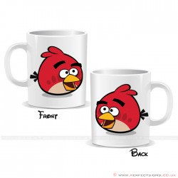 Angry Bird Red Cartoon Mug