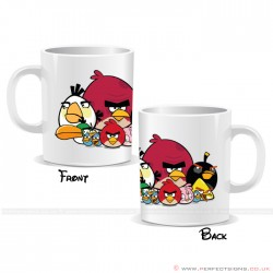 Angry Bird Team Cartoon Mug