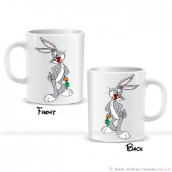 Bugs Bunny Carrot Cartoon Character Mug
