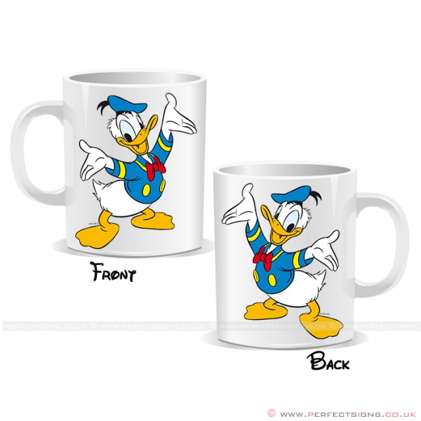 Donald Duck Disney Cartoon Character Mug