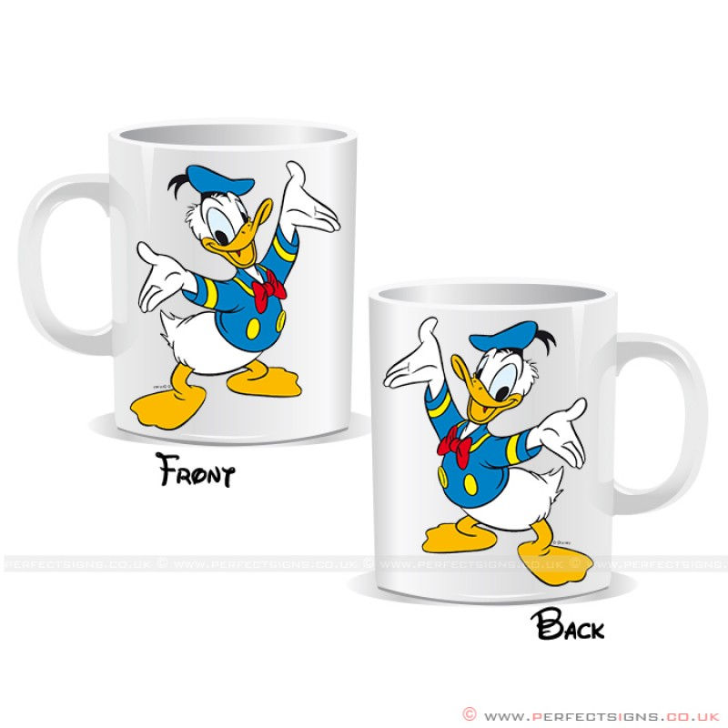 Donald Duck Disney Cartoon Mug Character vw8mN0n