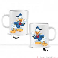 Donald Duck Wink Disney Cartoon Character Mug