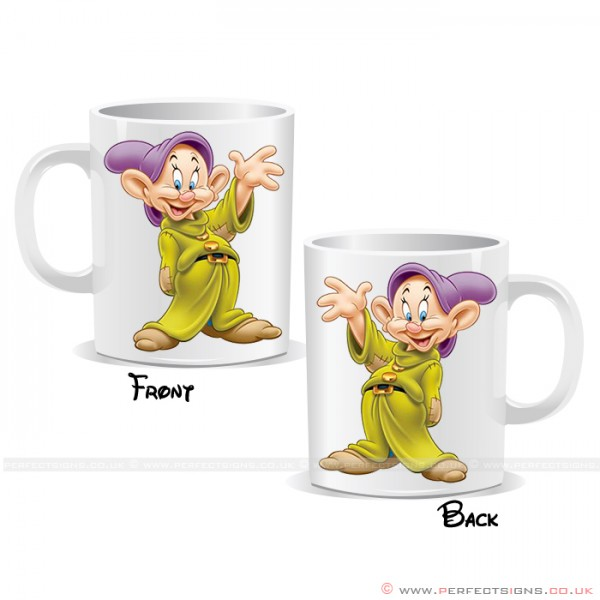Dopey Dwarf Disney Cartoon Character Printed Mug