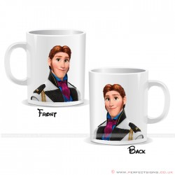 Frozen Prince Hans Disney Cartoon Character Mug