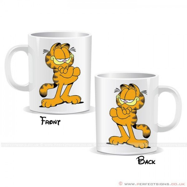 Garfield Cat Cartoon Character Mug