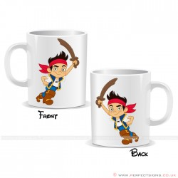 Jake the Pirate Cartoon Character  Mug