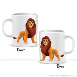 Mufasa Lion King Disney Cartoon Character Mug