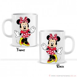 Minnie Mouse Red Disney Cartoon Character Mug