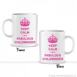 Keep Calm I'm a Fabulous Nurse Mug