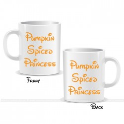 Pumpkin Spiced Princess Halloween Mug