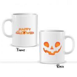 Orange Mask Happy Halloween Mug