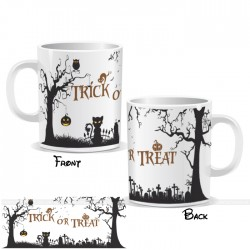 Trick Or Treat Halloween Wrap Mug